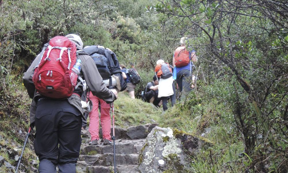 short inca trail to machu picchu two days
